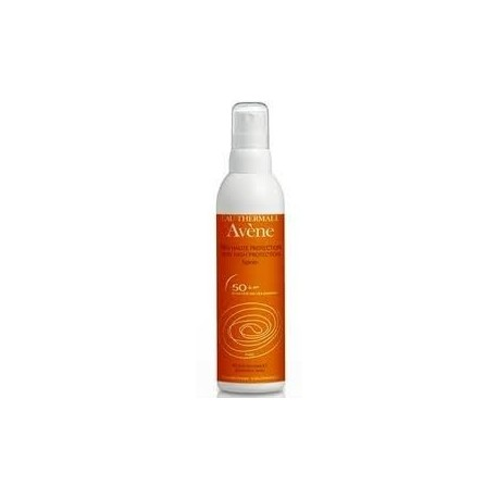 Fotoprotector Avène 50 + Spray 200 ml