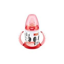 Nuk Mickey Mouse Biberón Entrena First Choice 150 ml Rojo