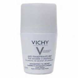Vichy Anti-Transpirante Calmante 48 Horas Desodorante Roll On 50 ml