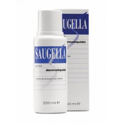 Saugella Dermolíquido pH 3,5 Jabón Íntimo de Salvia 250 ml