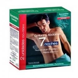 Oferta 2 Somatoline Cosmetic Hombre Cintura y Abdomen  7 Noches 150 + 150 ml