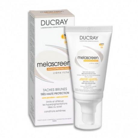 Melascreen UV Ducray Crema Rica SPF 50+ 40 ml