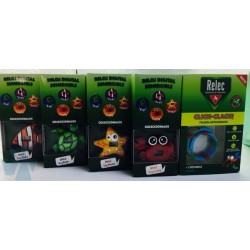 Relec Click-Clack Pulsera Antimosquitos + Reloj Tortuga