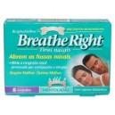 Breathe Right Tiras Nasales Mentoladas Grandes 8 Unidades