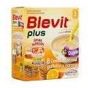 Blevit Plus Duplo 8 Cereales con Galletas y Naranja 600 g