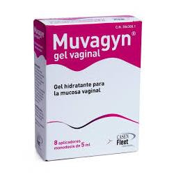 Muvagyn Gel vaginal 8 aplicadores monodosis de 5 ml