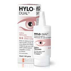 Hylo-Dual Colirio Lubricante y Protector Celular Natural 10 ml