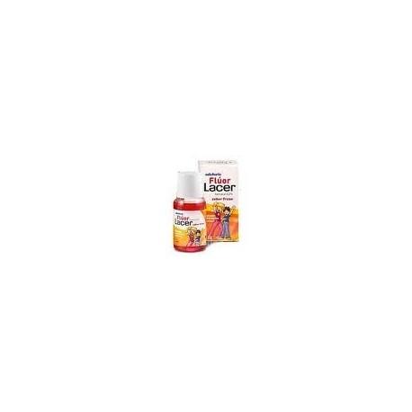 Colutorio Fluor Lacer semanal 0,05 % 100 ml Fresa