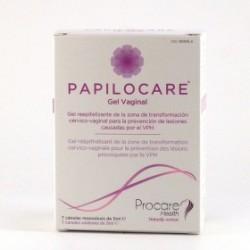 Papilocare Gel Vaginal 7 Cánulas Monodosis de 5 ml