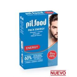 Pilfood Pack Energy Loción + Champú Anticaída Pilfood Direct