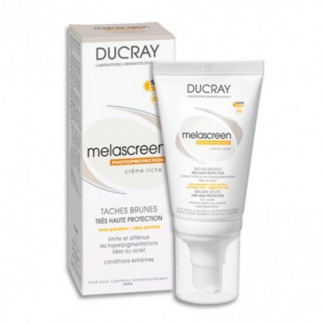 Melascreen UV Ducray Crema Rica SPF 50+ 40 ml