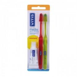 Vitis Cepillo dental Medio Access