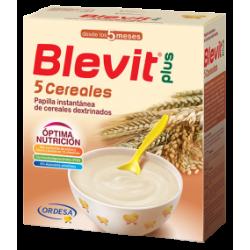 Blevit Plus 5 Cereales con Efecto Bífidus Papilla 700 g