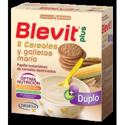 Blevit Plus Duplo 8 Cereales y Galletas María 600 g