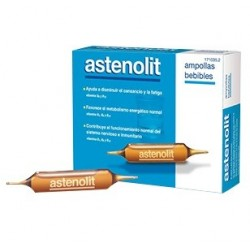 Astenolit  12 Ampollas 10 ml
