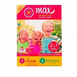Max Antipiojos Kit Elimax y Retiramax