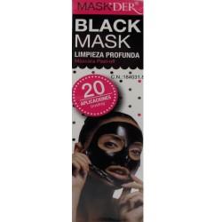 Black Mask Limpieza Profunda Máscara Peel-off 20 aplicaciones