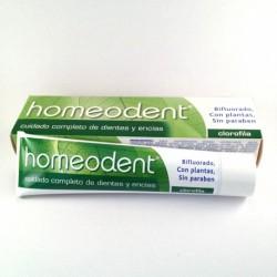 Homeodent Clorofila Dentífrico bifluorado 75 ml
