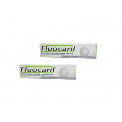 Oferta Pasta Blanqueadora Fluocaril 125 ml + 75 ml + Cepillo gratis Oral B