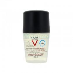 Vichy Homme Desodorante Antitranspirante no deja mancha 50 ml 48 H