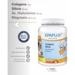 Epaplus Arthicare Colágeno, Silicio, Ác. Hialurónico, Magnesio Limón 334 g