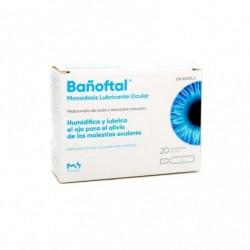 Bañoftal Gotas Oftálmicas 20 Monodosis de 0,4 ml
