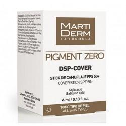 Martiderm Pigment Zero DSP-Cover Stick de camuflaje SPF50+ 4 ml