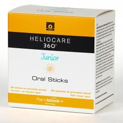 Heliocare 360º Junior Oral Sticks 20 Sobres
