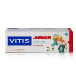 Vitis Junior Gel Dentífrico 75 ml Sabor Tutti Frutti