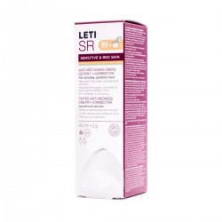 LetiSR Crema Antirojeces con color 40 ml