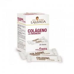 Ana Maria Lajusticia Colágeno con Magnesio 20 Sticks sabor fresa
