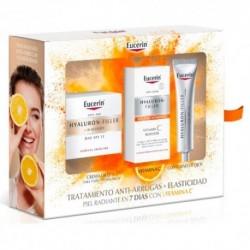 Eucerin Cofre Tratamiento Anti-Arrugas + Elasticidad Piel Radiante en 7 Días con Vitamina C