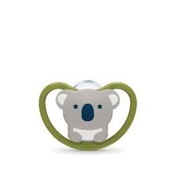 Nuk Space Chupete Silicona 6-18 Meses (Koala)