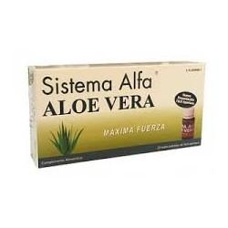 Sistema Alfa Aloe Vera 20 Viales Bebibles