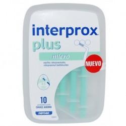 Cepillos Interdentales Interprox Plus Micro 10 unidades