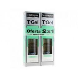 Neutrógena Duplo T/Gel Cabello Normal/Graso 250 ml + 250 ml
