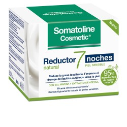 Somatoline Cosmetic Reductor Natural  7 Noches Piel Sensible 400 ml