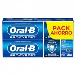 Duplo Oral-B Pro-Expert Multiprotección Pasta Dentífrica con Flúor 100 ml + 100 ml