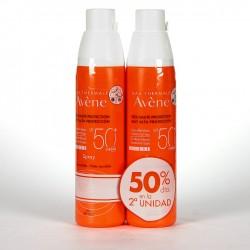 Duplo Fotoprotector Avène 50 + Spray 200 ml + 200 ml