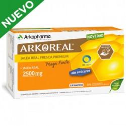 Arkoreal Jalea Real Fresca Premium 2500 mg Mega Forte 20 Ampollas