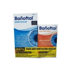 Bañoftal Pack Anti irritación ocular (Baño Ocular 50ml + Ojo Irritado 10 ml)