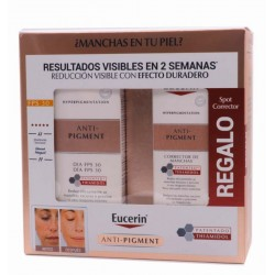 Oferta Eucerin Anti-Pigment Crema Día FPS30 50 ml Anti-Manchas + Spot corrector gratis