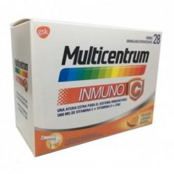 Multicentrum Inmuno C 28 Sobres Granulado Efevescente