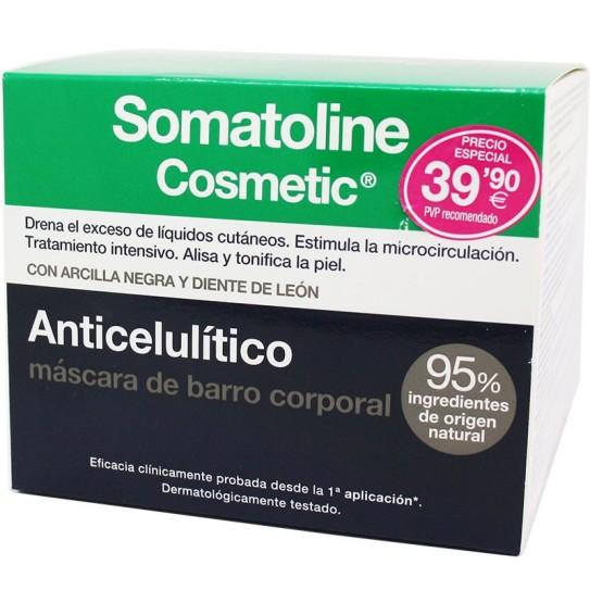 Somatoline Cosmetic Anticelulítico Máscara de barro corporal 500 g