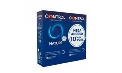 Duplo Control Nature 12 Preservativos + 12 preservativos