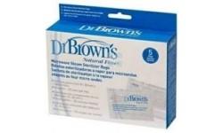 Dr Brown's Bolsitas Esterilizadoras a vapor para microondas 5 unidades