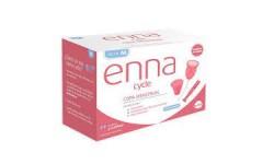 Enna Cycle Copa Menstrual M 2 Unidades + Aplicador