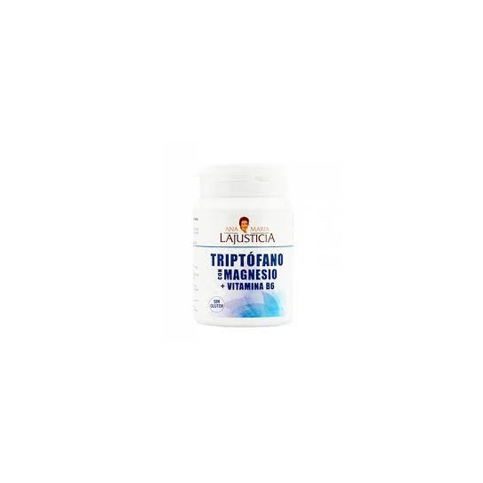 Ana Maria LaJusticia Triptófano con Magnesio + Vitamina B6 60 Comprimidos