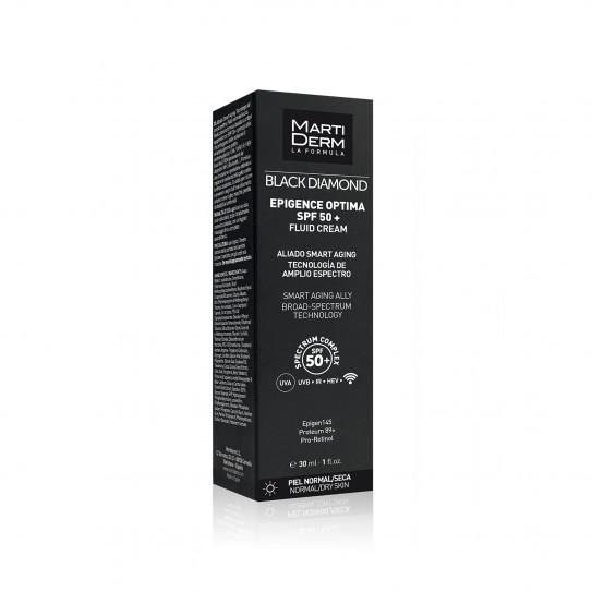 Martiderm Black Diamond Epigence Optima SPF50+ Crema Fluida 30 ml