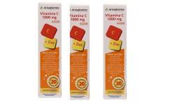 Arkopharma Vitamina C +Zinc 60 Comprimidos Efervescentes